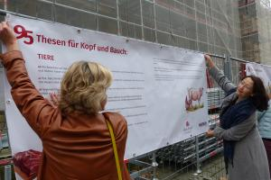 Thesenanschlag Heilbronn @Rose Schweizer